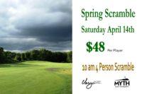 myth spring scramble
