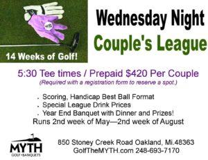 couples golf leagues near me