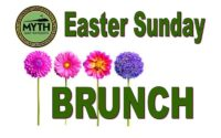 easter sunday brunch Myth golf course and rustic wedding venue 2019